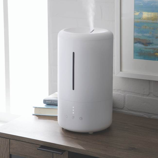 technology-Ultrasonic Humidifier With Cool Mist For Medium Rooms, 3.5 Liter