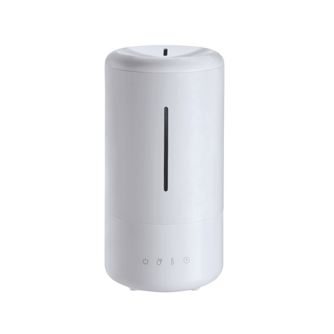 Large 4L ultrasonic humidifier on a white background