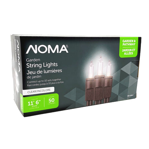 NOMA Mini LED Christmas Lights 50 Bulb – Warm White