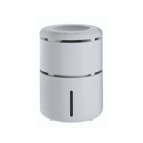 Large 4L evaporative humidifier on a white background