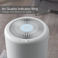 NOMA air quality indicator ring lit up blue