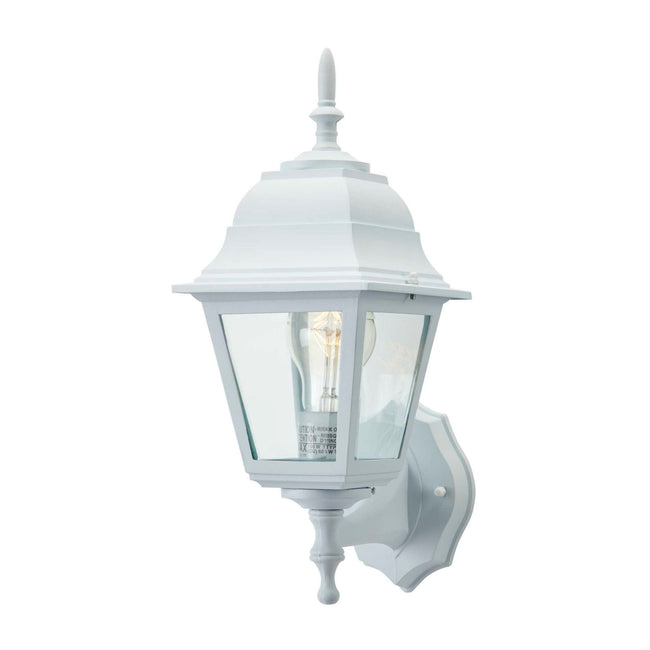 Coach Outdoor Wall Lantern / Sconce Reversible Waterproof Light - White