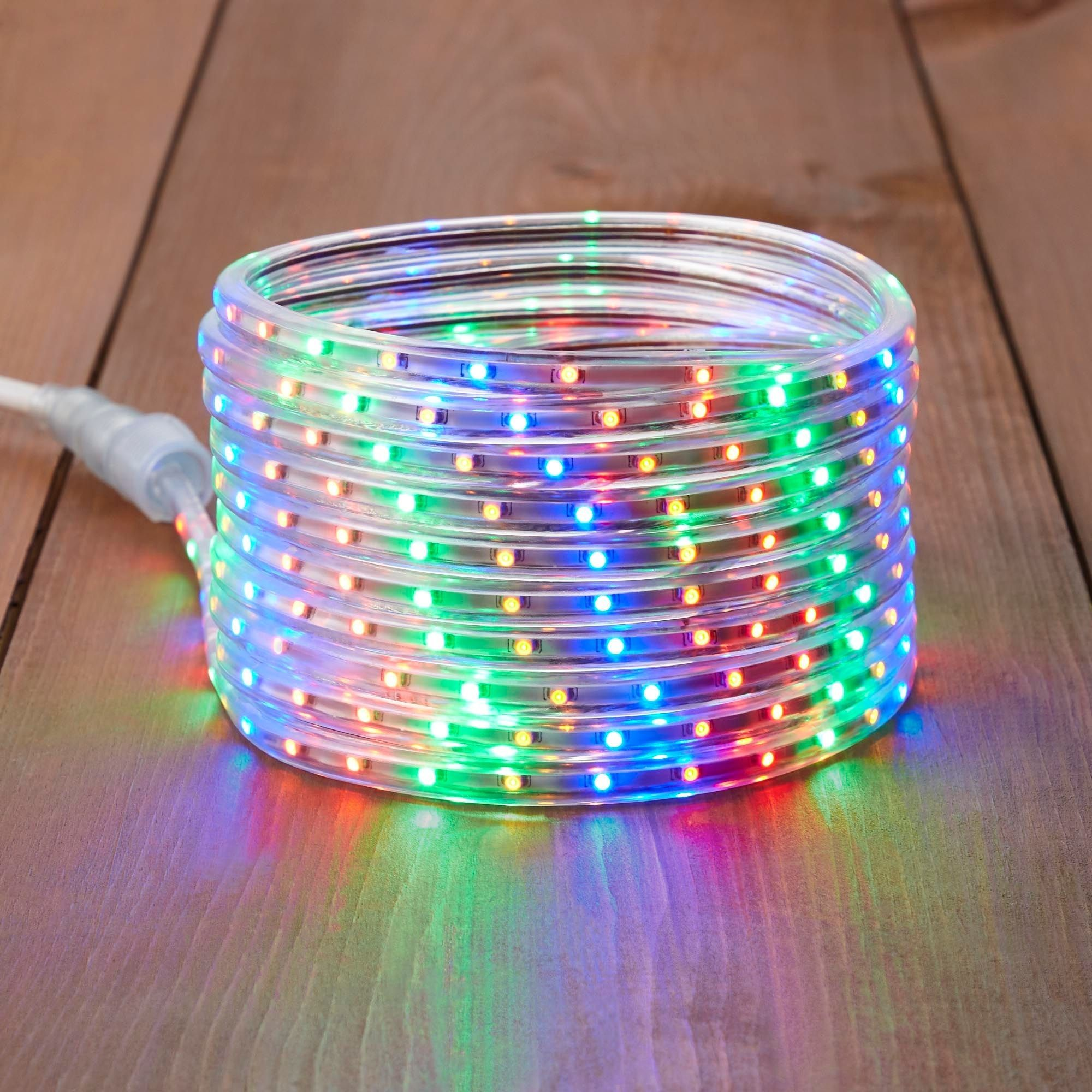Flexible LED Rope Light - 23-Ft - Multicolor