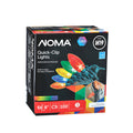 NOMA Multi-Color Quick Clip C9 - 100 Count, Packaging Box on White Background