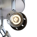Eglington track light bulb illuminated close up - illuminated