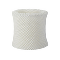 Evaporative humidifier replacement filter for all sizes on a white background