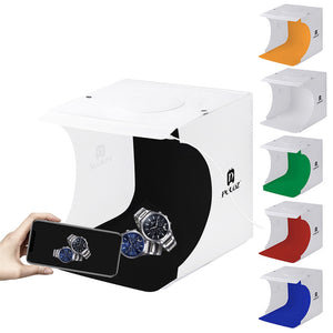 Mini Portable Six Colors Folding Light Soft Box Photography Studio