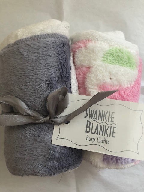 Swankie Blankie Burp Clothes