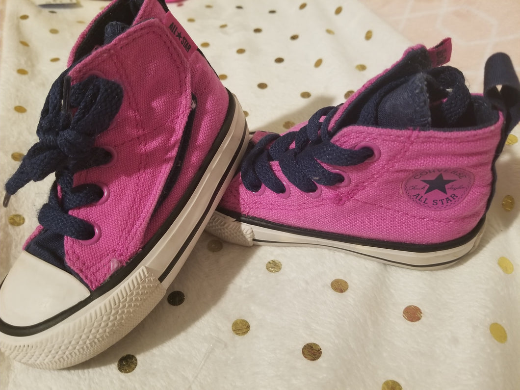 Kids Converse High Tops Size 5