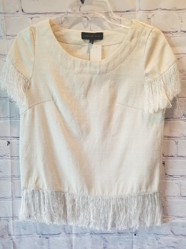 English Rose White Blouse Size Small