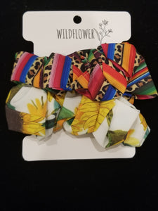 2 Pack Hair Scrunchies