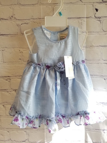 Laura Ashley Blue Dress 6 Months