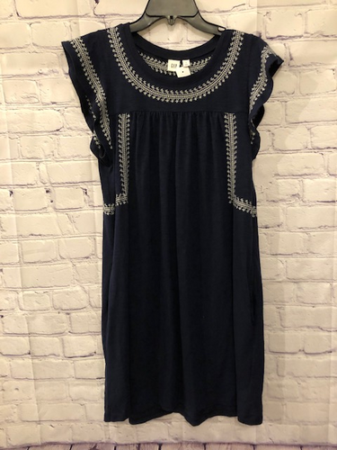 Gap Navy Midi Dress Size Small