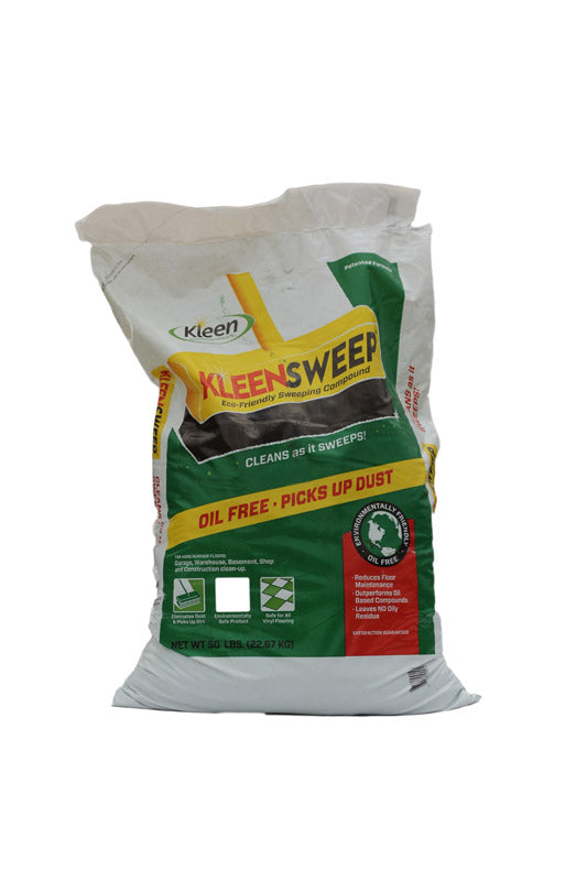 Kleen Sweep  Sweeping Compound  50 lb.