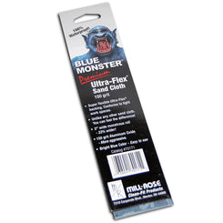 Mill Rose  Blue Monster Ulta-Flex  8 in. L x 2 in. W 150 Grit Medium  Aluminum Oxide  Sanding Cloth