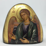 Archangel Gabriel orthodox icon on stone. monasterevmc.org