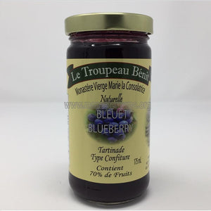 Blueberry Jam | Tartinade aux bleuets