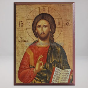 Christ the Merciful, byzantine orthodox custom made icon by the sisters of monasterevmc.org