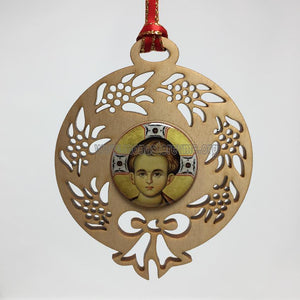 Christ Wreath Ornament