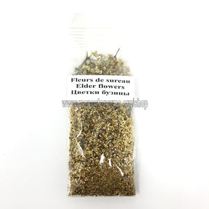 Elder Flowers Herbal Tea | Tisane de Fleurs de Sureau