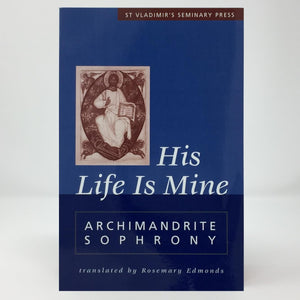 His life is mine orthodox book sold in Canada by the sisters of monasterevmc.org