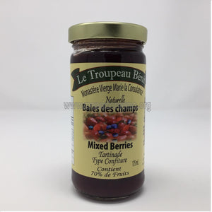 Mixed Berries Jam | Tartinade aux baies des champs