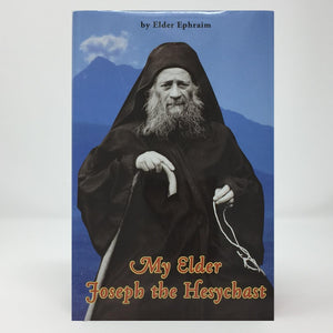 My Elder Joseph the Hesychast by the late Elder Ephraim of Arizon orthodox book sold in Canada by the sisters of monasterevmc.org