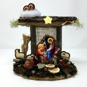 Orthodox Nativity Scene 10 | Crèche de Noël Orthodoxe 10