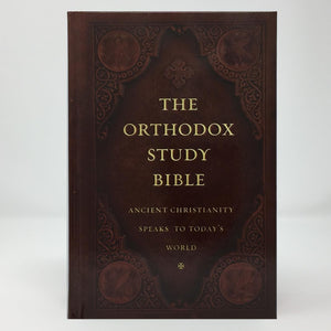 Orthodox Study Bible, complete New & Old Testament orthodox book sold in Canada by the sisters of monasterevmc.org