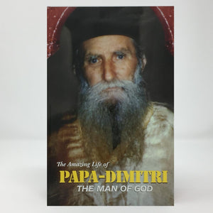 Papa Dimitri Gagastathi, the man of God orthodox book sold in Canada by the sisters of Greek Orthodox monasterevmc.org