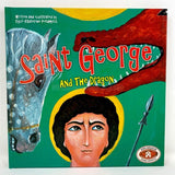 Saint George and the dragon, Orthodox children's book sold by the sisters of monasterevmc.org