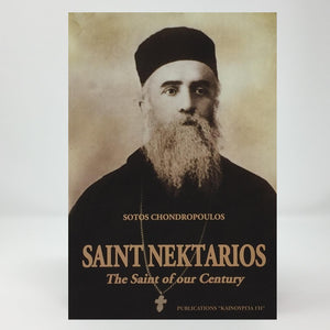 Saint Nektarios, the Saint of our Century orthodox book sold by the sisters of Greek Orthodox monasterevmc.org