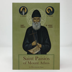 Saint Paisios of Mount Athos biography  orthodox book sold by the sisters of Greek Orthodox monasterevmc.org