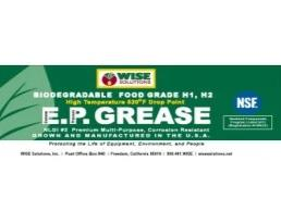 Food Grade EP Grease NLGI #2 NSF H1
