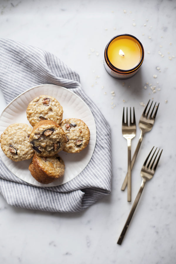 SCENT-INSPIRED RECIPES: FIG + OAT MUFFINS BY MODEST MARCE