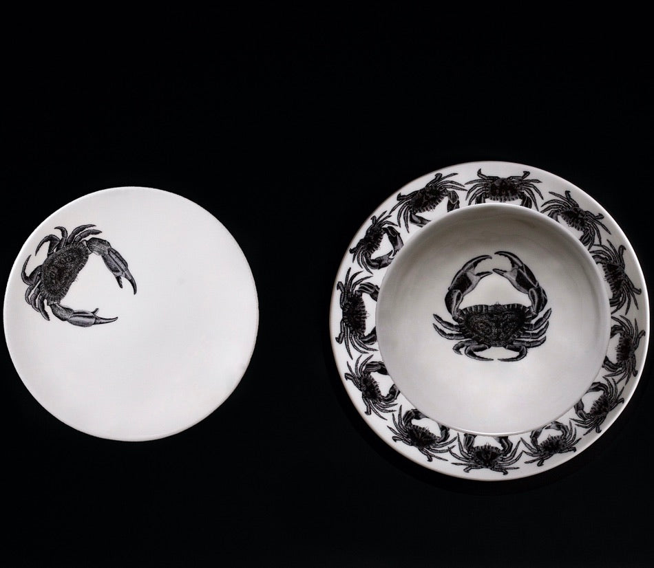 The Oceanic Collection: the 3-piece dinner set