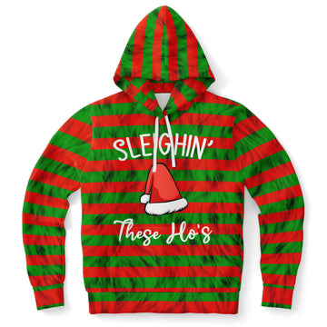 Sleighin' These Ho's Hoodie