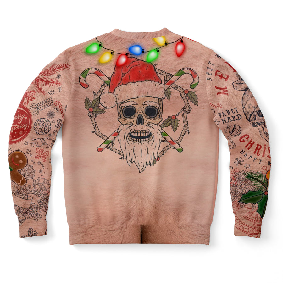 Topless Christmas Sweatshirt