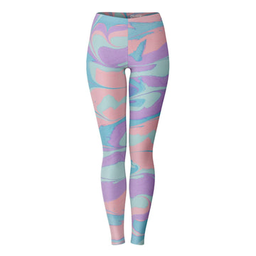 Pastel Smear Leggings