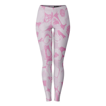 Pink Paint Leggings