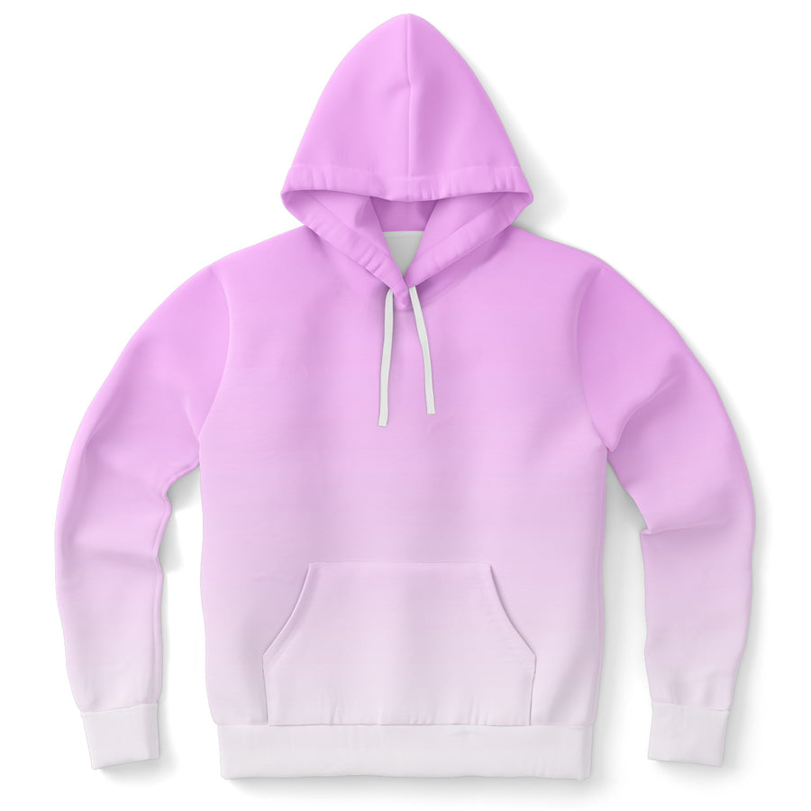 Pink White Fade Hoodie