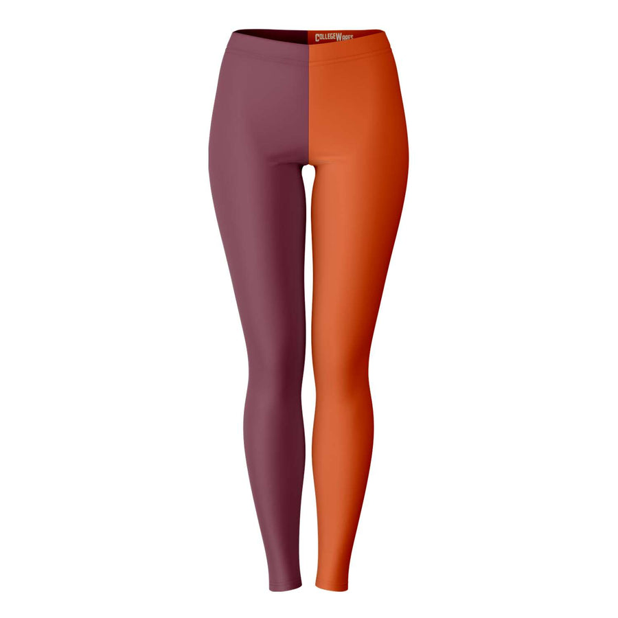 Virgina Tech Color Leggings