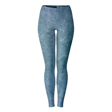 Blue Sheet Metal Leggings