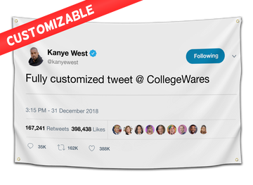 *CUSTOM* Tweet Flag - CollegeWares