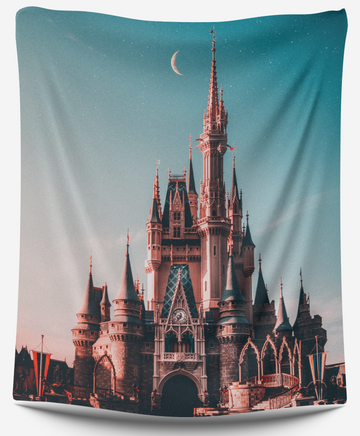 Disney Castle Tapestry - CollegeWares