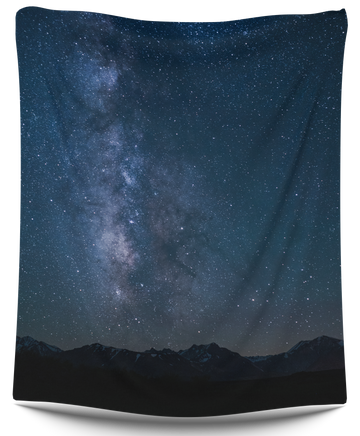 Galaxy Mountain tapestry - CollegeWares