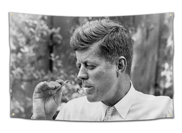 JFK Smoking Flag - CollegeWares