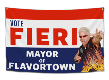 Mayor of Flavortown Flag - CollegeWares