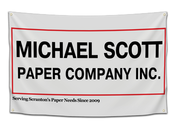 Michael Scott Paper Company Flag - CollegeWares