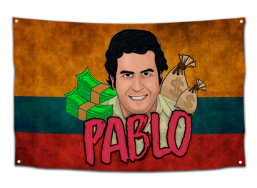 Pablo Escobar Flag - CollegeWares